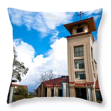 Throw Pillow featuring the photograph Holy Trinity Church by Shane Kelly