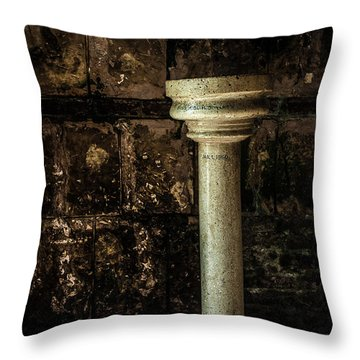 Holy Water Throw Pillow