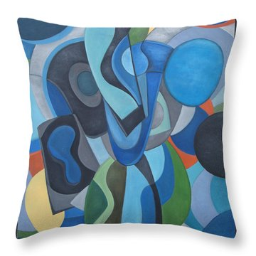 Homage To Herman Throw Pillow