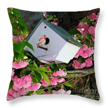 Home And Garden Throw Pillow
