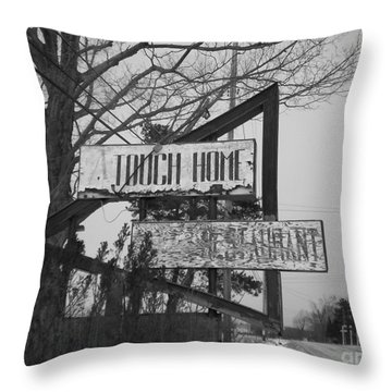 Throw Pillow featuring the photograph Home Cooking  by Michael Krek