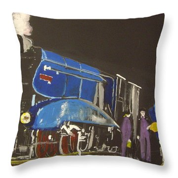 Home For The Night Throw Pillow by Carole Robins