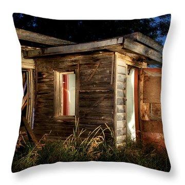 Home Long Ago Throw Pillow