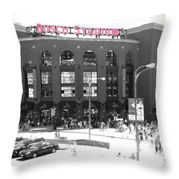 Home Of The Cardinals Throw Pillow
