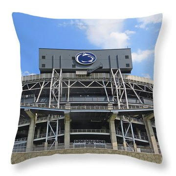 Home Of The Lions Throw Pillow