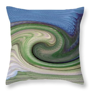 Home Planet - Gravity Well Throw Pillow