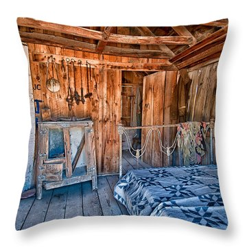 Home Sweet Home Throw Pillow by Cat Connor