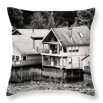 Throw Pillow featuring the photograph Home Sweet Home by Davina Washington