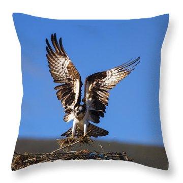 Homebuilder Throw Pillow