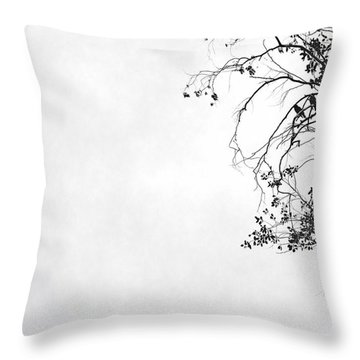 Throw Pillow featuring the photograph Homecoming by Lin Haring