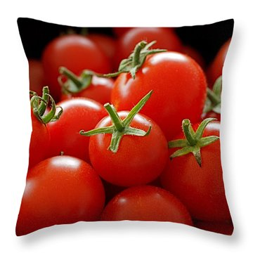 Homegrown Tomatoes Throw Pillow