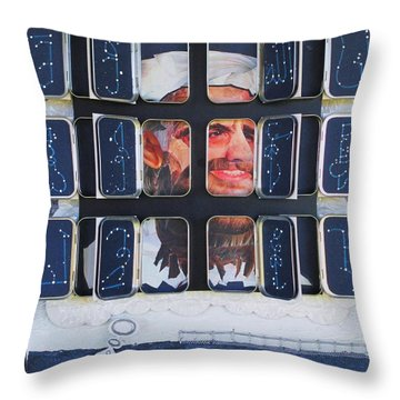 Homeland Security Phase 2 The Face Of Terror Full-blown Throw Pillow