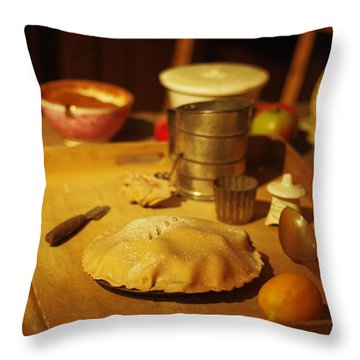 Homemade Pie Throw Pillow