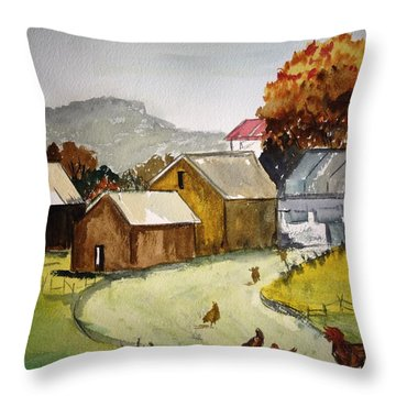 Homestead 2 Throw Pillow