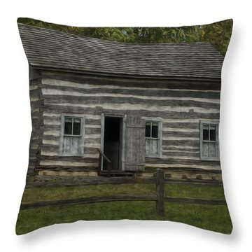 Homestead 3 Throw Pillow by Jack Zulli