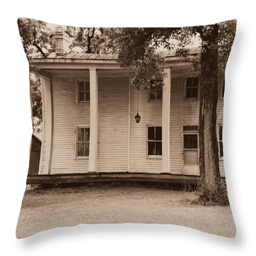 Homestead Forgotten Throw Pillow