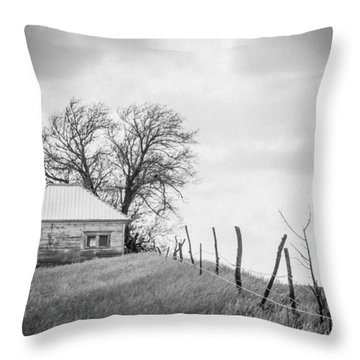 Homestead Hill  Throw Pillow