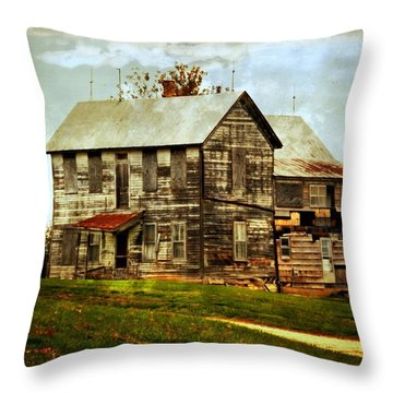 Homestead Throw Pillow by Marty Koch