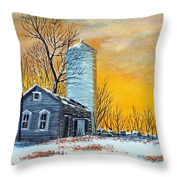 Homestead Memory Throw Pillow