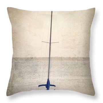 Homeward Bound Throw Pillow by Charles Beeler