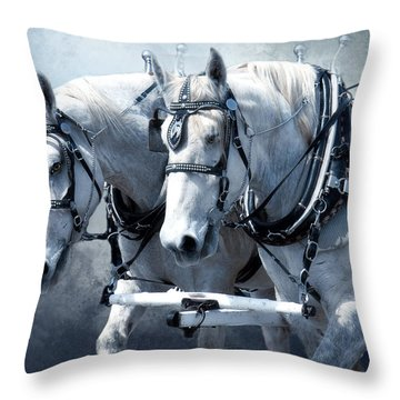 Throw Pillow featuring the digital art Homeward Bound by Mary Almond