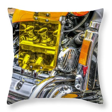 Honda Valkyrie 1 Throw Pillow by Steve Purnell