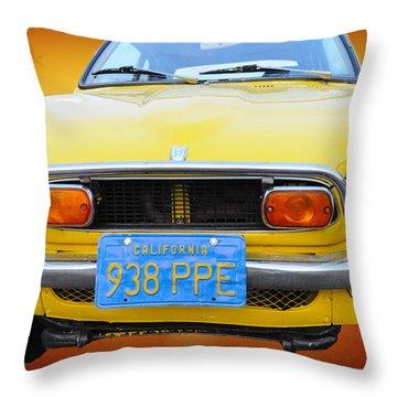 Honda Z600 Coupe I I Throw Pillow