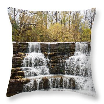 Honeoye Falls 2 Throw Pillow