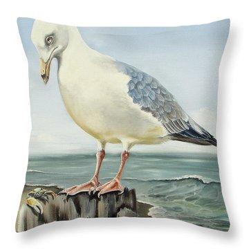 Honestly I'm Vegan Throw Pillow by Phyllis Beiser