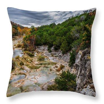Honet Creek 2 Throw Pillow
