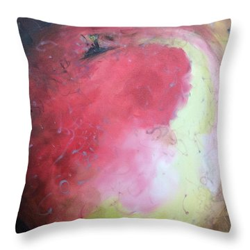 Honey Crisp Throw Pillow