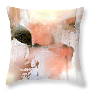 Honey Gilt Throw Pillow