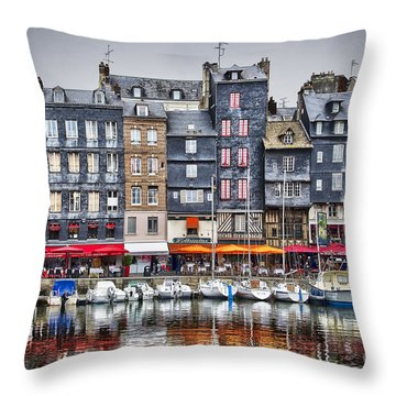 Honfleur Throw Pillow