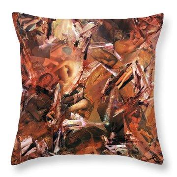 Honi Soit Qui Mal Y Pense ...lust Throw Pillow