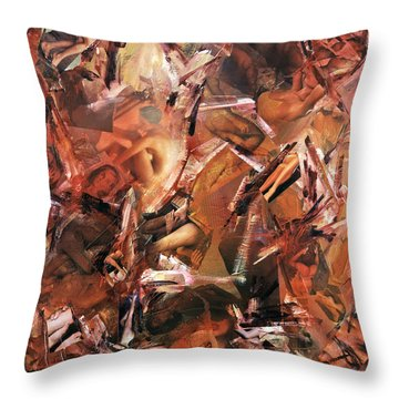 Honi Soit Qui Mal Y Pense ...lust Throw Pillow