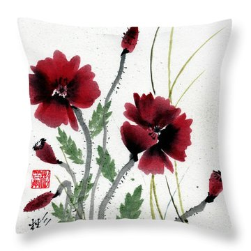 Honor Throw Pillow by Bill Searle
