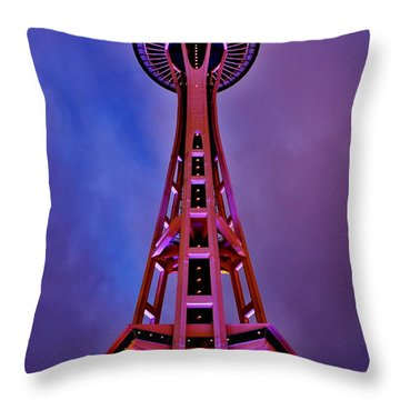 Honoring The Dawgfather Throw Pillow by Benjamin Yeager