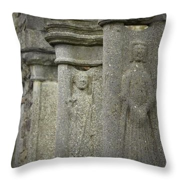 Honoring The Saints Throw Pillow by Nadalyn Larsen