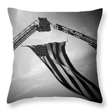 Honoring Those That Have Gone Before Throw Pillow by Susan  McMenamin