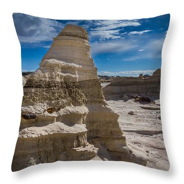 Hoodoo Rock Formations Throw Pillow