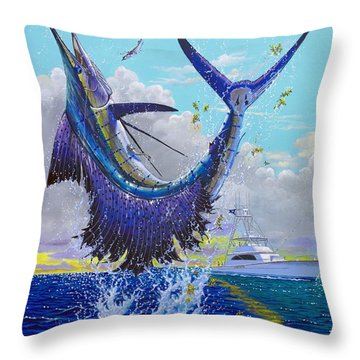 Hooked Up Off004 Throw Pillow by Carey Chen