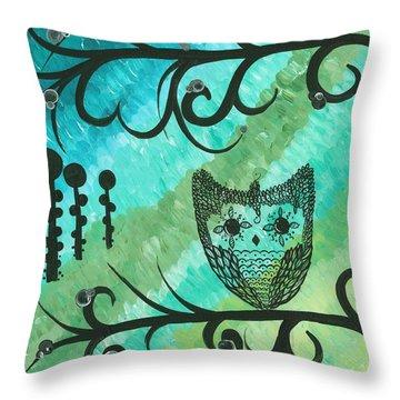 Hoolandia Contrasts 04 Throw Pillow