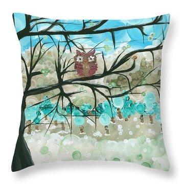 Hoolandia Seasons - Winter Throw Pillow