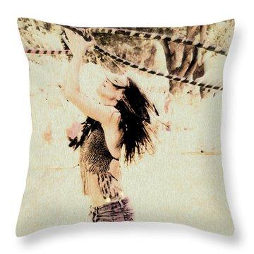 Hoop Dancer  Throw Pillow
