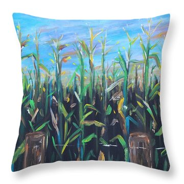 Hoosier View Throw Pillow