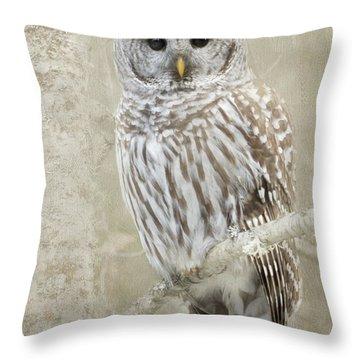 Hoot Hoot Hoot  Throw Pillow
