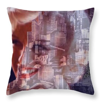 Hope And Tragedy Throw Pillow by Seth Weaver