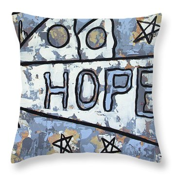 Hope Throw Pillow by Anthony Falbo