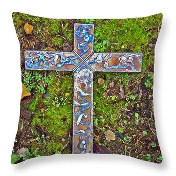 Hope Throw Pillow by Deborah Montana