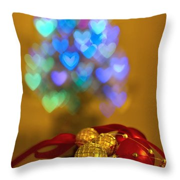 Hope Every Day Is A Happy New Year Throw Pillow by Evelina Kremsdorf